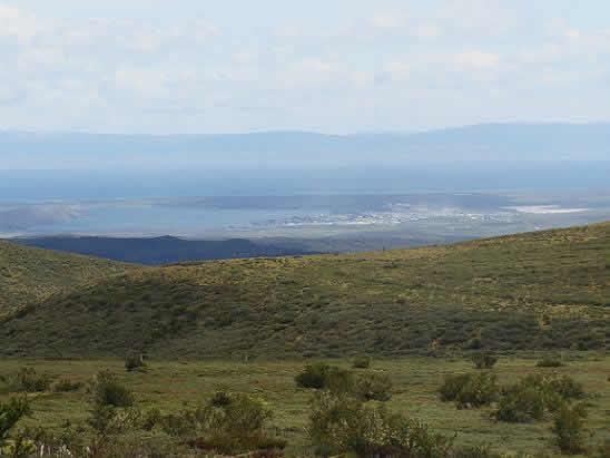 Ruta : Asomo al cordón Baquedano, en Tierra del Fuego