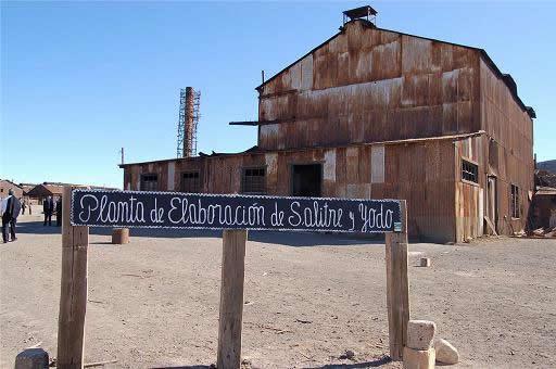 Ruta : Visita a oficinas salitreras, Matilla y Pica