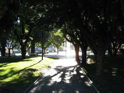 Plaza de Coyhaique