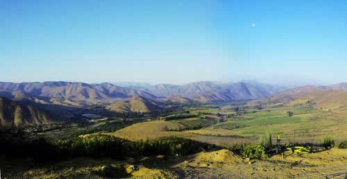 Valle en Illapel
