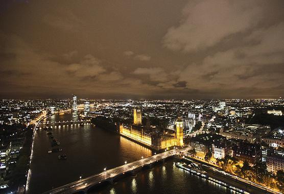 Londres detrás de su eterna bruma