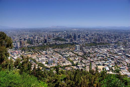¿Qué ve un extranjero en Santiago?