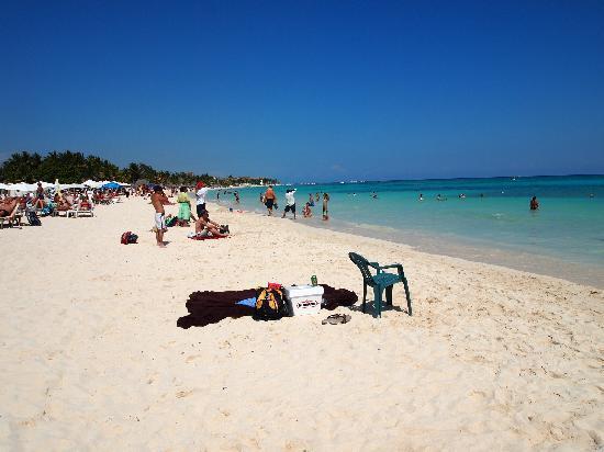 Playa mamitas en playa del Carmen