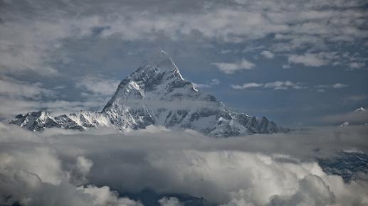 El temible pico del Annapurna