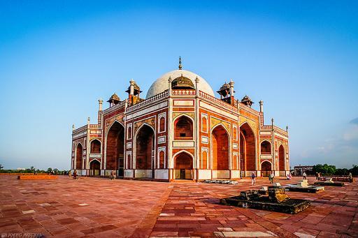 La Tumba de Humayun, la percusora del Taj Mahal