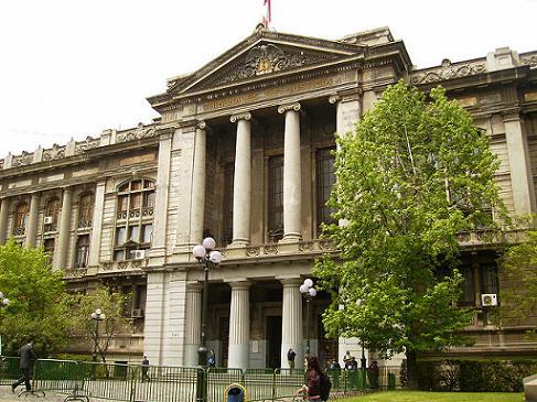 Palacio De Tribunales chile