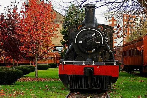 museo ferroviario P Neruda