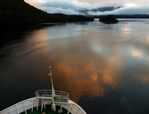 Rutas turísticas : Por los Canales de la Patagonia