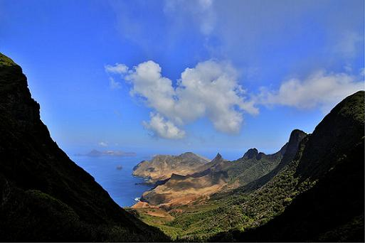 Recorriendo la Isla de Crusoe