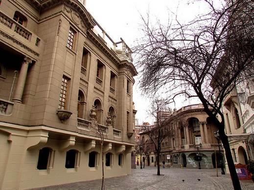 Zonas típicas de Santiago de Chile