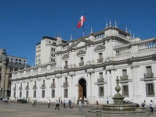 Lugares históricos en Santiago de Chile