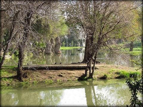 Parque O´Higgins de Santiago de Chile