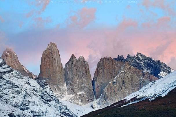 Visita las Torres del Paine en Chile