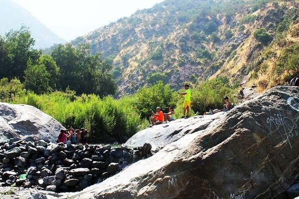 Trekking en Quebrada de Macul : Naturaleza pura en Santiago